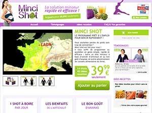 Mince Shot Website
