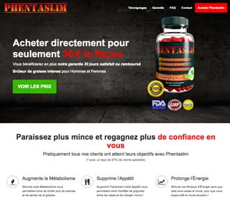 Phentaslim website Francais