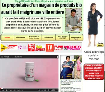 Glucoburner website france
