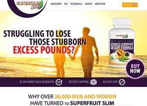 Superfruit Slim Website
