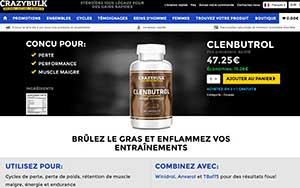 Clenbuterol CrazyBulk France, Suisse