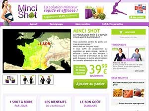 Mince Shot Website