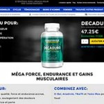 DecaDuro – gain de muscles, augmentation de la force et de l'endurance