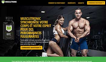 Muscletronic French website