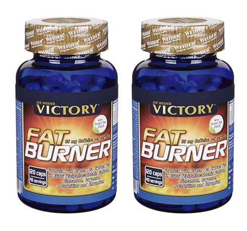 Victory Fat Burner est principalement conçu pour agir en tant que brûleur de graisse thermogénique, mais la formule améliore également la lipolyse et aide à réduire l'appétit.